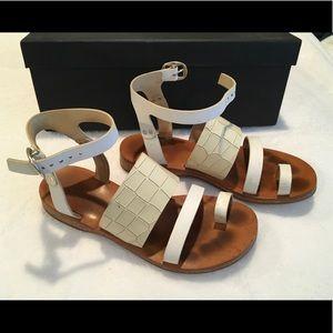 Rag & Bone white Chartan sandal